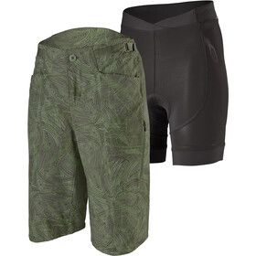 Patagonia Dirt Craft Bike Shorts Women, retro layers-camp green